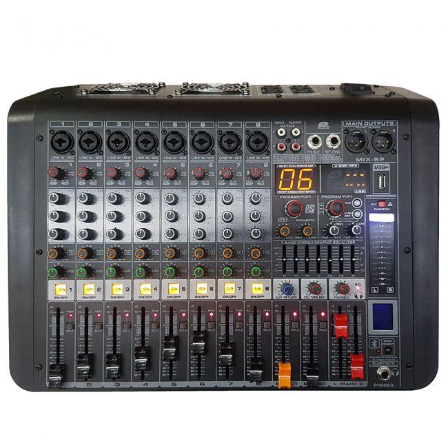 MIX8P Consola Pa Pro Audio