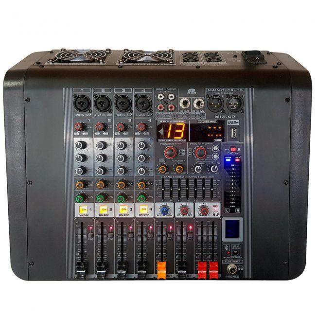 Consola Mezcladora Mix-4p