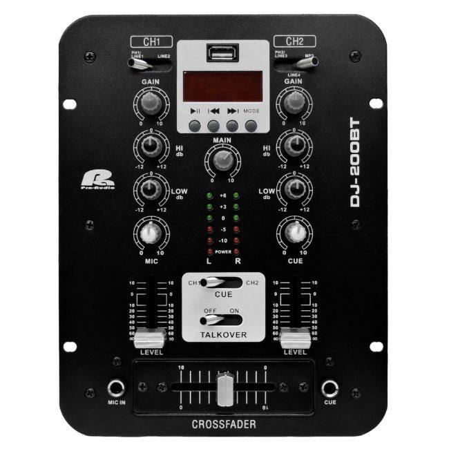 Mixer DJ-200BT Paproaudio