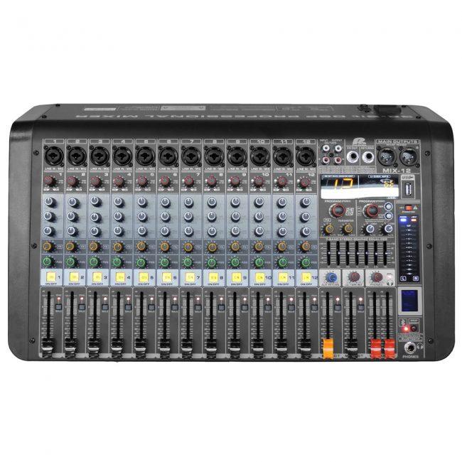 Consola Mezcladora MIX-12 Paproaudio