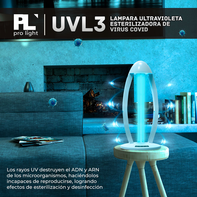 Lampara UVL3